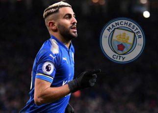 Riyad Mahrez Blue Mancheter